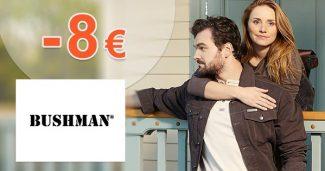 Zľava -8€ na všetko na prvý nákup na Bushman.sk