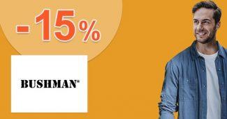 Zľava až -15% na všetko pre členov na Bushman.sk