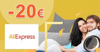 Zľava až -20€ na elektroniku na AliExpress.com