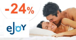 Zľava až -24% na eJoy.sk