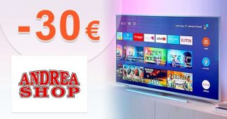 Zľava až -30€ na ďalší nákup na AndreaShop.sk