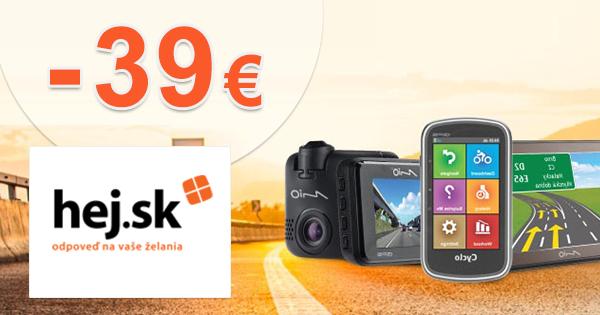 Zľava až -39€ na GPS navigácie Mio na Hej.sk