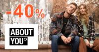 Zľava až -40% NAVYŠE na módu na AboutYou.sk