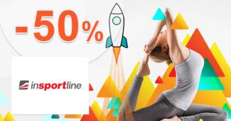 Zľava až -50% na InsportLine.sk