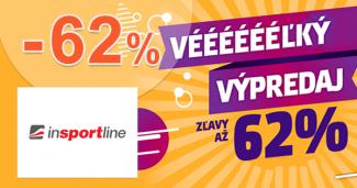Zľava až -62% na InsportLine.sk