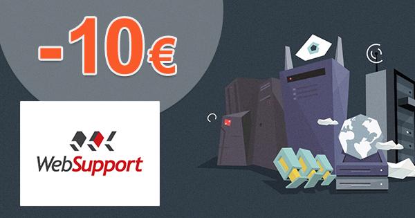 Zľava na Biznis hosting -10€ na WebSupport.sk