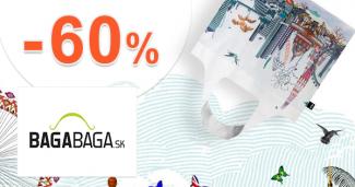 Limitovaný zľavnený tovar až -60% na BagaBaga.skagaBaga.sk
