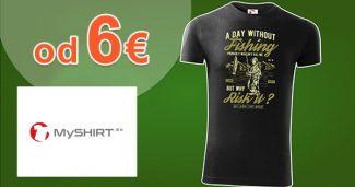 Zľavnené tričká a mikiny len od 6€ na MySHIRT.sk