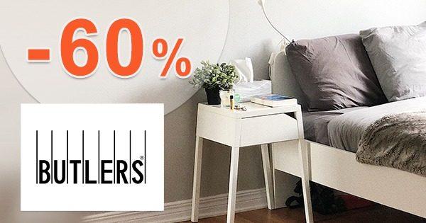 Zľavnený a akciový sortiment až -60% na Butlers.sk