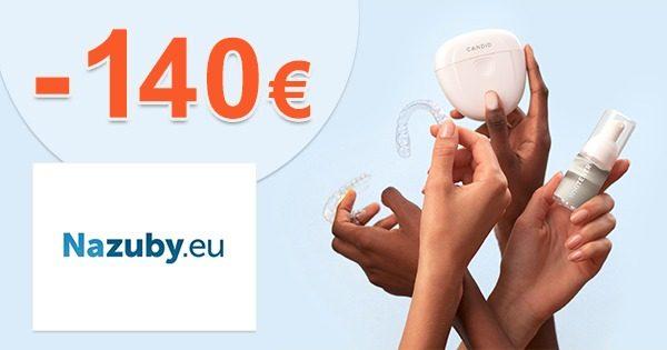 Zľavová zóna až -140€ zľavy a akcie na NaZuby.eu