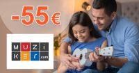 Zľavové kódy až -50€ extra k nákupu na Muziker.sk