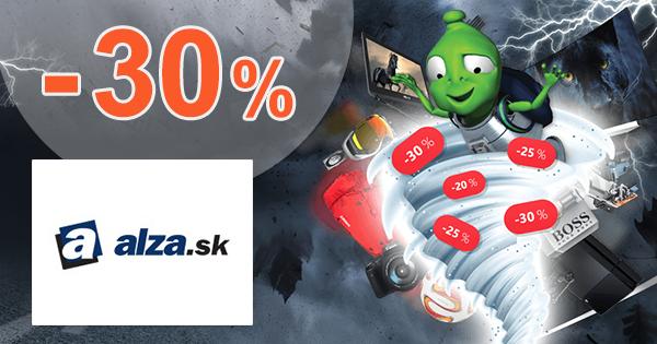 Zľavové tornádo až -30% zľavy na Alza.sk