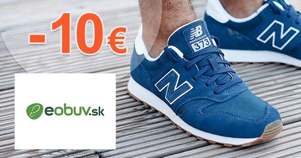 Zľavový kód -10€ zľava na eObuv.sk