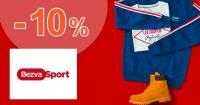 Zľavový kód -10% extra na všetko na BezvaSport.sk