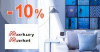 Zľavový kód -10% extra zľava na MerkuryMarket.sk