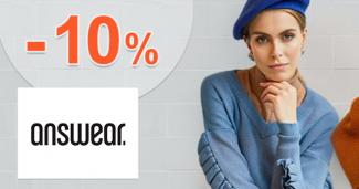 Zľavový kód -10% na Answear.sk