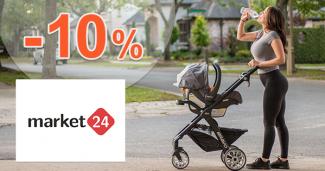 Zľavový kód -10% na Petite&Mars na Market24.sk