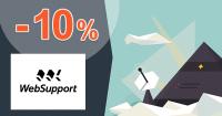 Zľavový kód -10% na The Hosting na WebSupport.sk