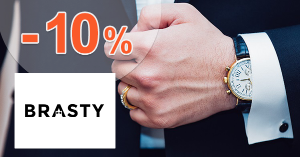 Zľavový kód -10% na hodinky Gant na Brasty.sk