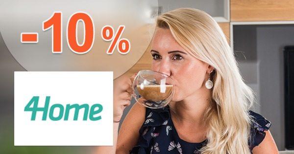 Zľavový kód -10% na poháre Hot&Cool na 4Home.sk