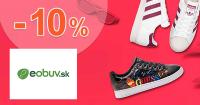 Zľavový kód -10% na už zľavnené na eObuv.sk