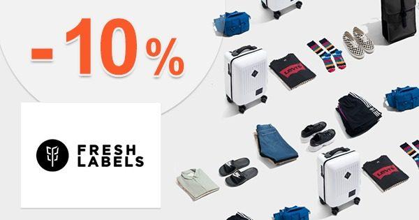 Zľava -10% na posledné veľkosti na FreshLabels.sk