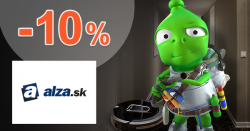 Zľavový kód -10% na umývačky riadu na Alza.sk