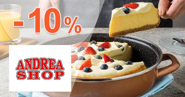 Zľavový kód -10% na značku Delimano na AndreaShop.sk