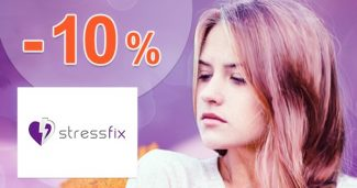 Zľavový kód -10% zľava NA VŠETKO na Stressfix.sk