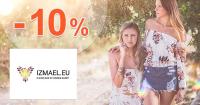 Zľavový kód -10% zľava + darček na Izmael.eu