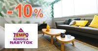 Zľavový kód -10% zľava + doprava zadarmo na nábytok