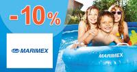 Zľavový kód -10% zľava na bazény na Marimex.sk