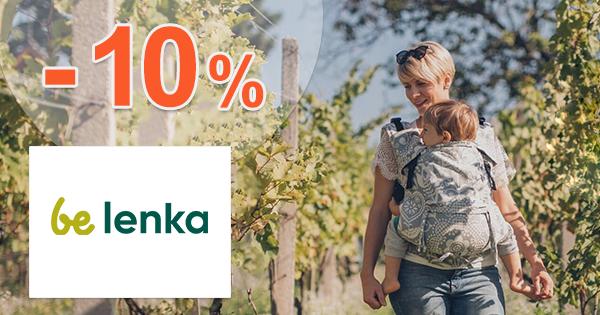 Zľavový kód -10% zľava na všetko na BeLenka.sk