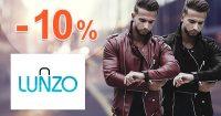 Zľavový kód -10% zľava na všetko na Lunzo.sk