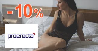 Zľavový kód -10% zľava na všetko na Proerecta.com