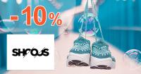 Zľavový kód -10% zľava na všetko na Shooos.sk