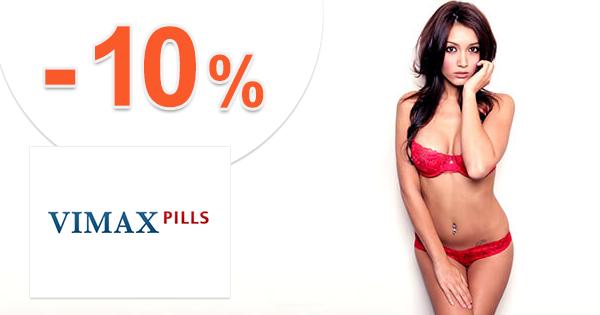 Zľavový kód -10% zľava na všetko na Vimax.sk