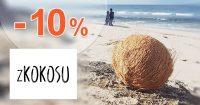 Zľavový kód -10% zľava na všetko na zKokosu.cz