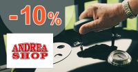 Zľavový kód -10% zľava na značku Weber na AndreaShop.sk