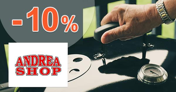 Zľavový kód -10% na Weber na AndreaShop.sk