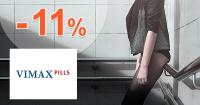 Zľavový kód -11% zľava na všetko na Vimax.sk