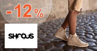 Zľavový kód -12% zľava NA VŠETKO na Shooos.sk