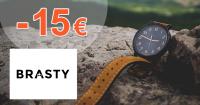 Zľavový kód -15€ na hodinky Festina na Brasty.sk
