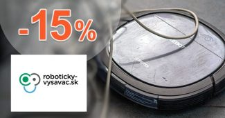 Zľavový kód -15% EXTRA na VYSÁVAČE Symbo