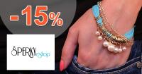 Zľavový kód -15% na Šperky-eshop.sk, kupón, zľava, akcia