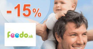 Zľavový kód -15% na športové kočíky na Feedo.sk