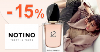 Zľavový kód -15% zľava NA PARFÉMY na Notino.sk