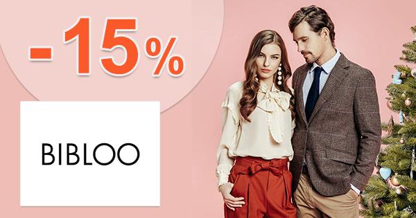 Zľavový kód -15% na dámske oblečenie na Bibloo.sk