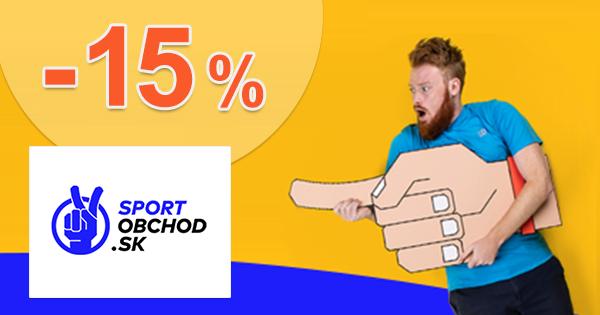 Zľavový kód -15% na Endurance na SportObchod.sk