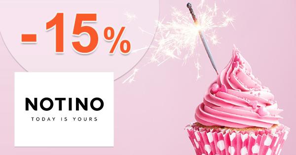 Zľavový kód -15% na parfémy na Notino.sk